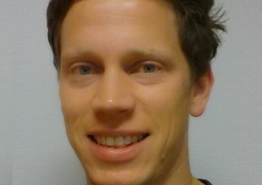 Portrait of Martin Pilskog.