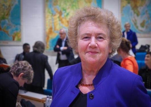 Pippa Norris æresdoktor UiB Portrett