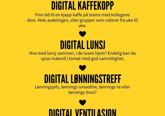 digitalt arbeidsmiljø