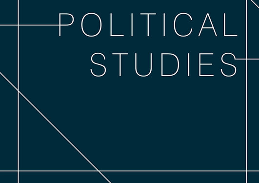 Front page of Political Studies