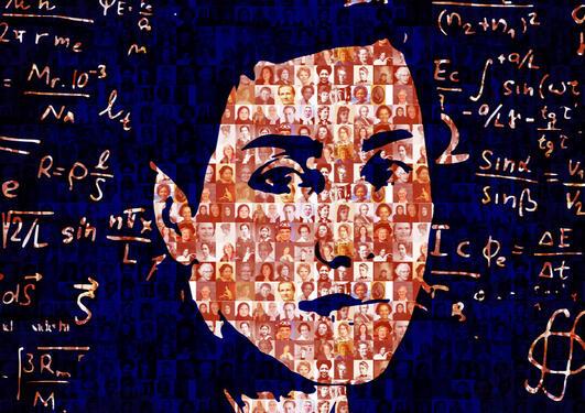 Portrait Maryam Mirzakhani