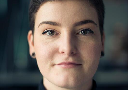 Portrett av Emma Eide Rydningen