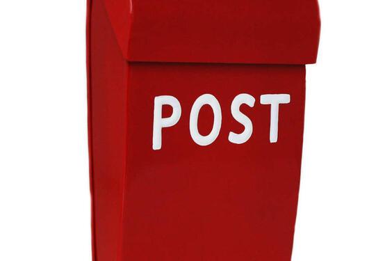 Bilde av en postkasse