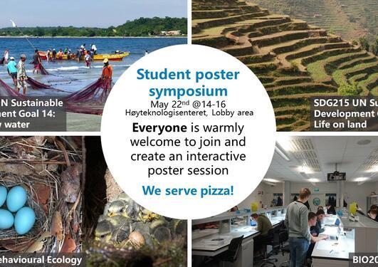 Posteroppslag om symposiet