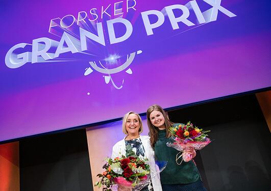 Cecilie Gudveig Gjerde, vinner Forsker Grand Prix 2015,