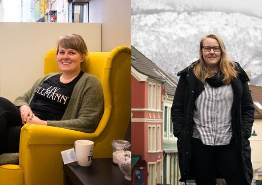 Suzanne og Caritha har begge studert praktisk-pedagogisk utdanning (PPU)
