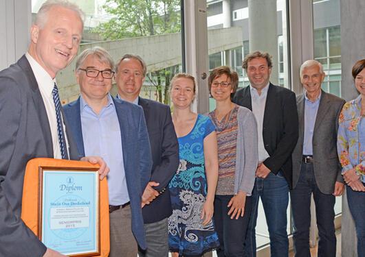 Prisvinnarar: Stein Ove Døskeland, Dag Moster for Mette Tollånes, Jim Lorens, Oddrun Gudbrandsen, Ute Kessler, Rune Bjørneklett