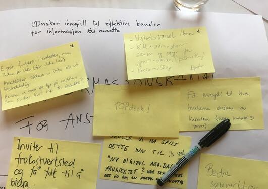 Problemstillinger og løsningsforslag