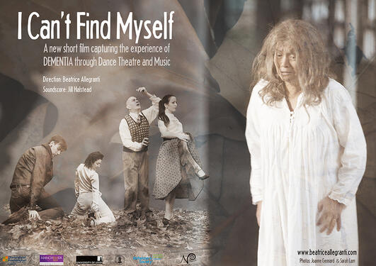 Plakat - I can't find myself