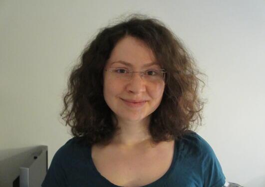 Alina Karafiat, German exchange student