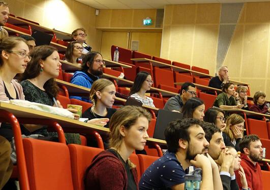 Deltagere på PhD dag