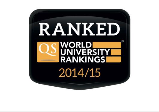 Logo for the QS World University Rankings 2014/15.