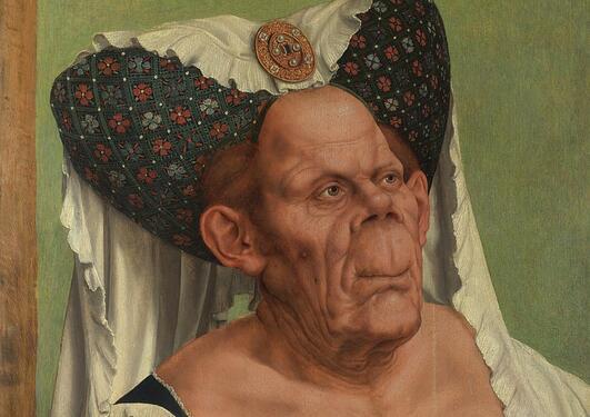 Quinten Massys, An Old Woman
