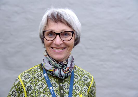 Målfrid Råheim.