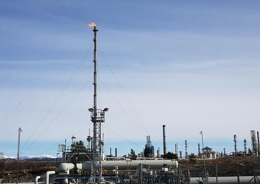 Raffineriet på Mongstad