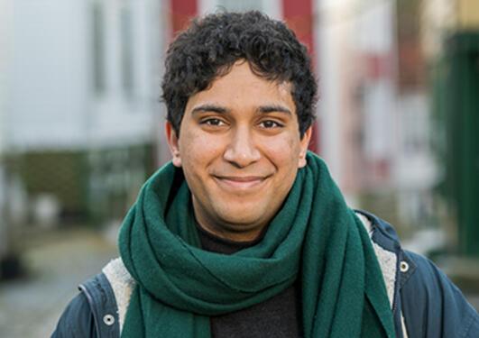 rahman ahktar chaudry studerer juss ved UiB