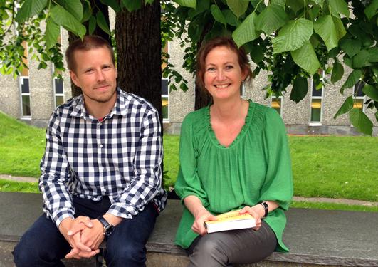 Bilde av Pernille Myrvold og John Erik Sætren