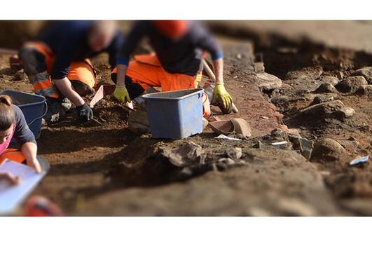 Utgraving Øystese