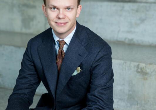 Sander Lindholm Andersen studerer profesjonsstudiet i psykologi
