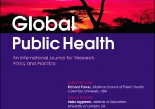 Front page Global Public Health Journal