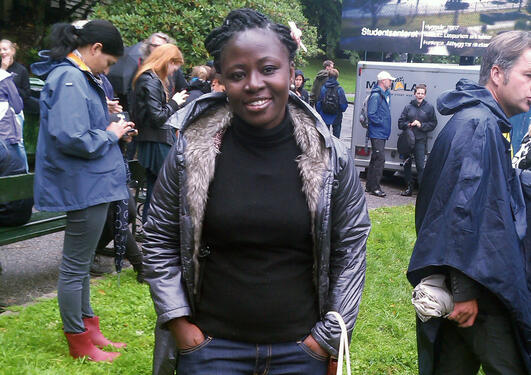 Master student Rosina Badwi.