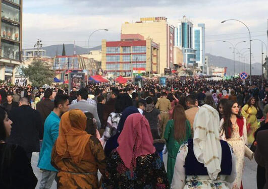 Newroz Celebration in Slemani
