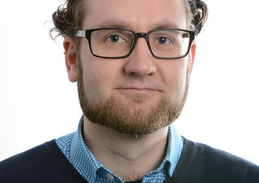 Portrett av Kristian Rusten