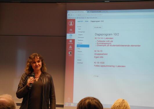 Læringsseminar - Astrid Blystad