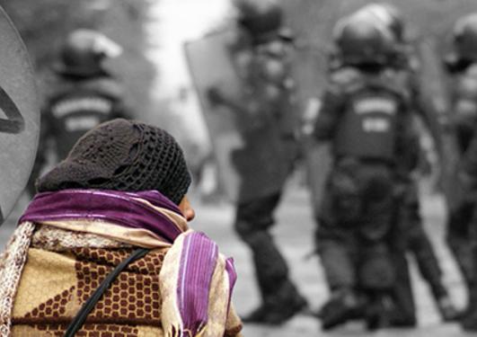 Police repression