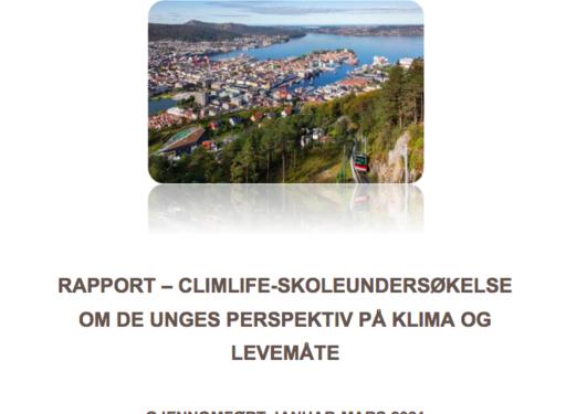 Rapport – CLIMLIFE-skoleundersøkelse