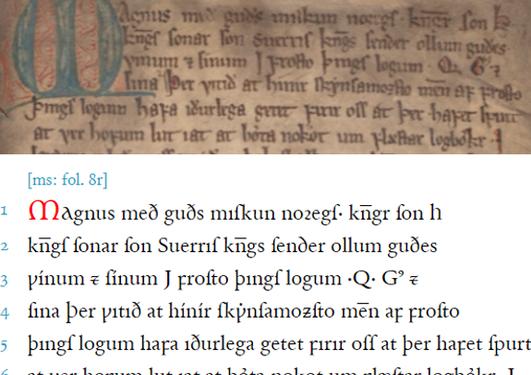 Holm perg 34 4to – Landslǫg Magnúss Hákonarsonar | Magnus Lagabøtes landslov
