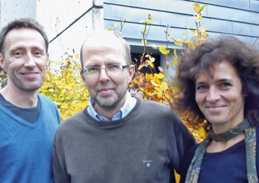 Stefan Johansson, Jan Haavik og Anne Halmøy