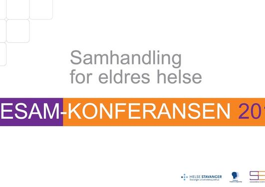 SESAM-konferansen 2015: Samhandling for eldres helse