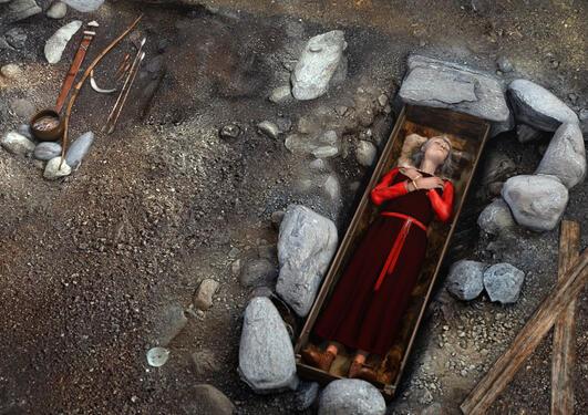Rekonstruksjon av graver