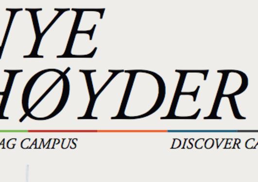 Forsiden til Nye Høyder