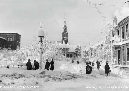Jul på Museplass 1917