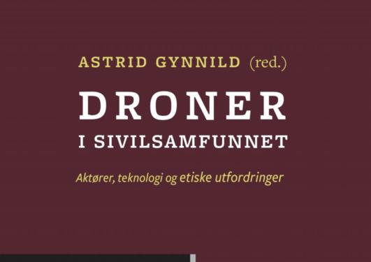 Bokomslag Droner i sivilsamfunnet