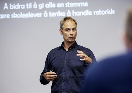 Bilde professor Jens E. Kjeldsen