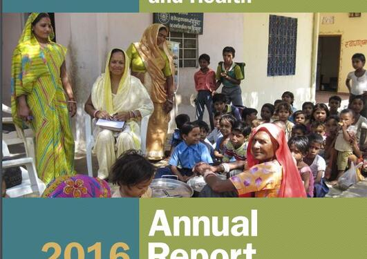 Front page Annual report 2016