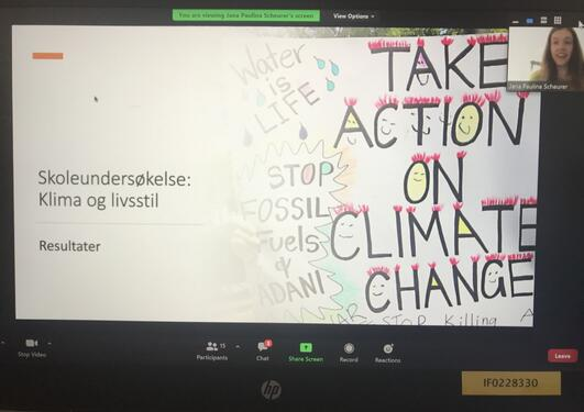 Skoleundersøkelse: Klima og livsstil