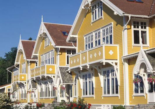 Solstrand Fjordhotell fasade