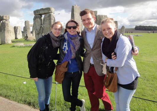 Tur til Stonehenge.
