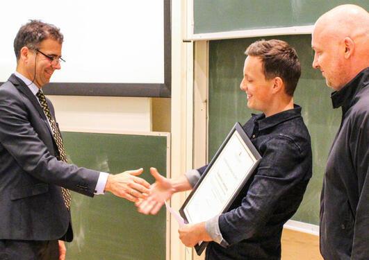 Studiekvalitetsprisen 2015