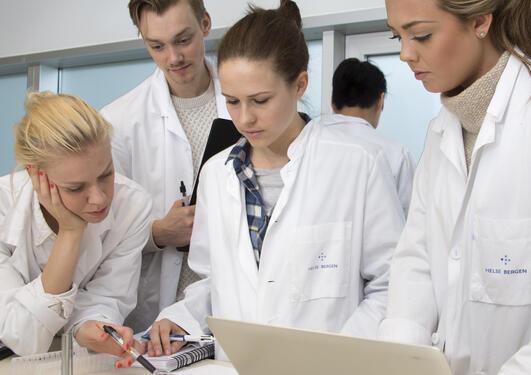 Studenter lab