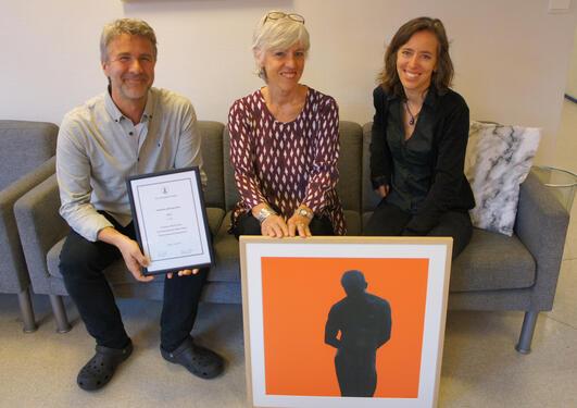 Tre vinnere av studiekvalitetsprisen