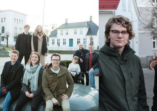 Studentrepresentantar i Studentparlamentet og Universitetsstyret 2017/2018
