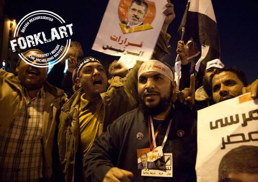 supporters of president mohammed morsi