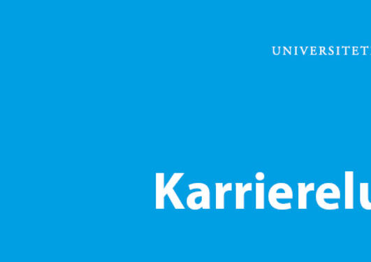 Karrierelunsj banner for arrangement