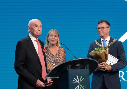 Jan Einar Greve, vinner av Christieprisen 2019.