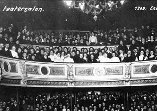 Det gamle teater i Bergen